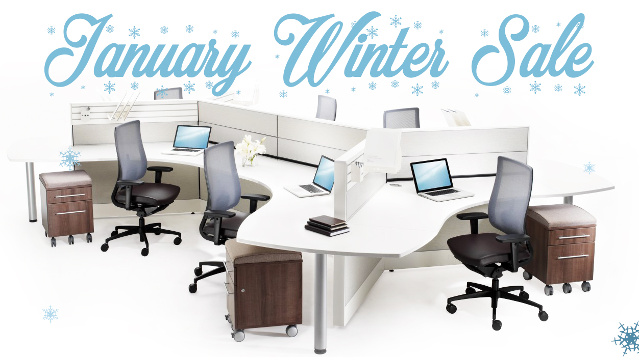 New & Used Office Furniture January 2020 – Winter Sale