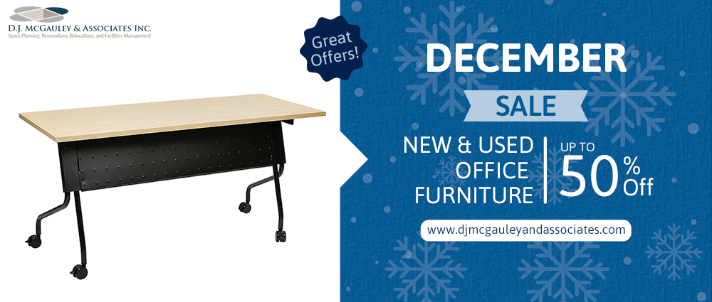 December New and Used Office Furniture Sale