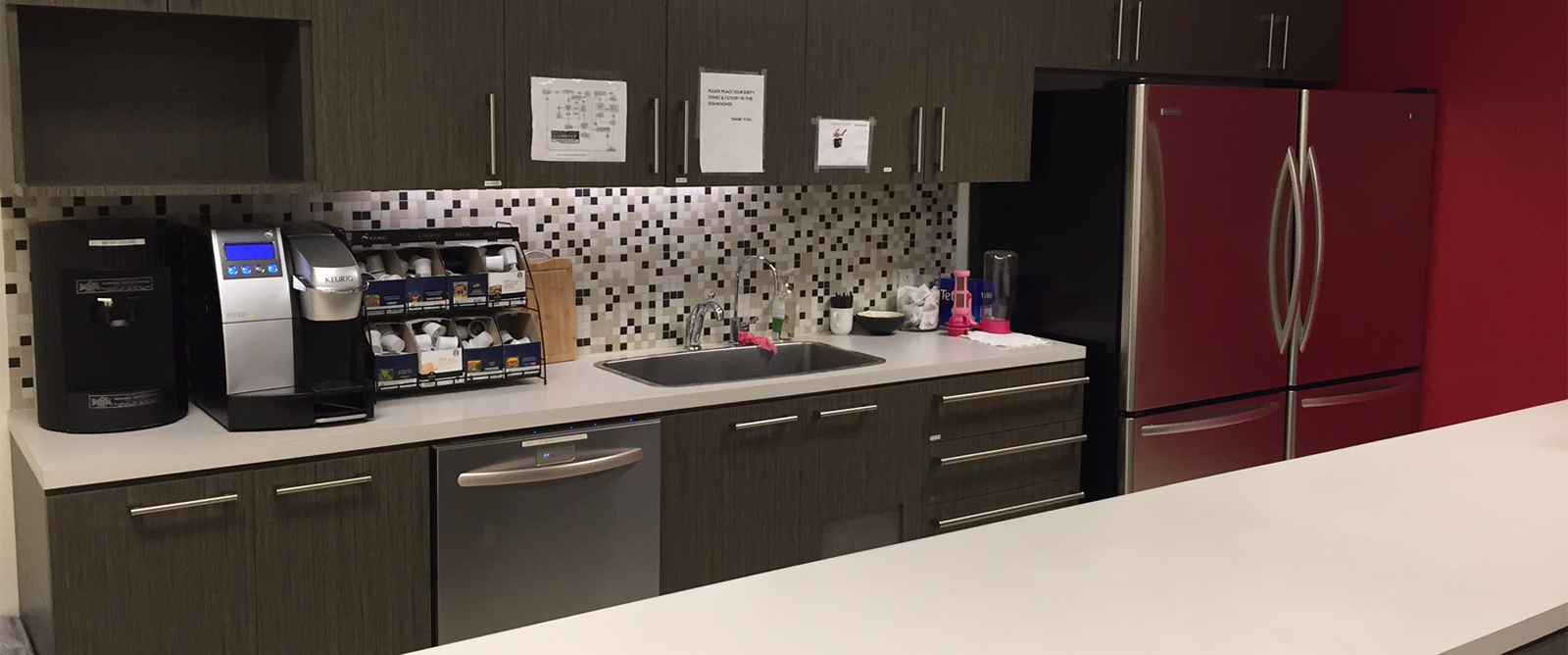Kitchens, Washrooms, Staff and Break Rooms